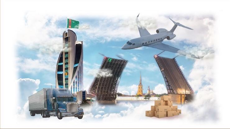 Доставка в Туркменистан из Санкт-Петербурга